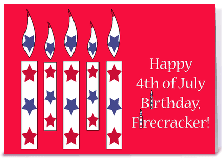 4th Of July Birthday Images