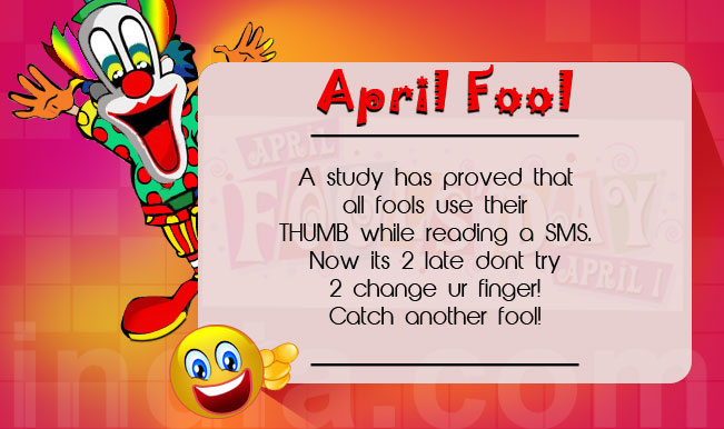 April Fools Wishes