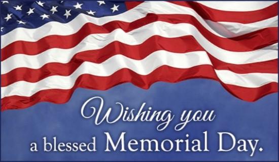 Happy Memorial Day Greetings