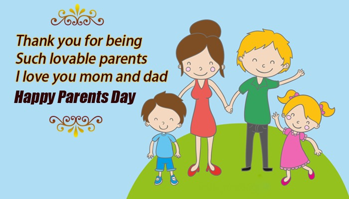 Happy Parents Day Cards