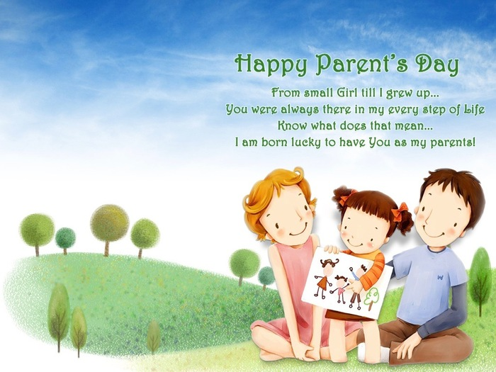 Happy Parents Day Greeting Cards