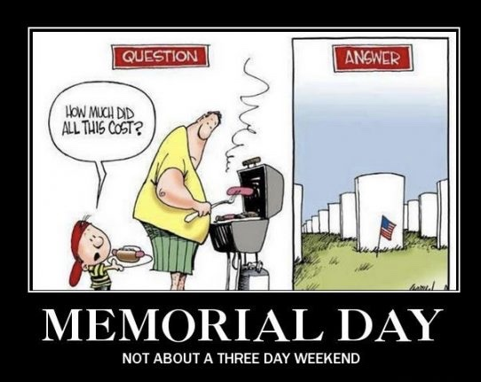 Memorial Day Funny Meme