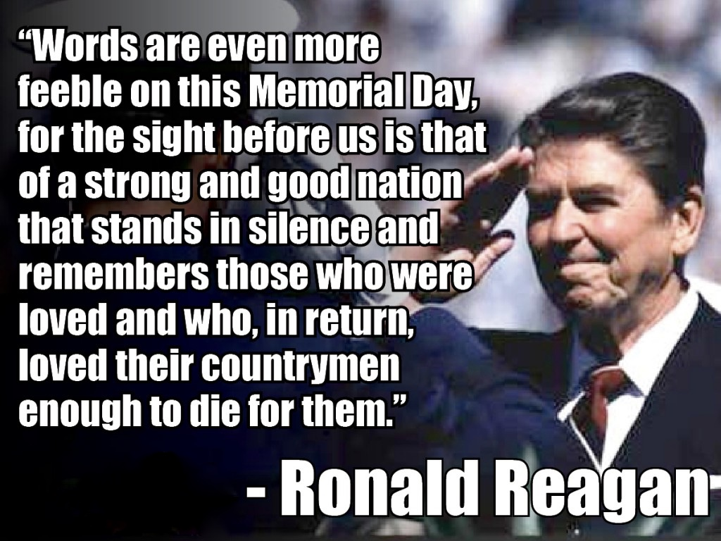 Memorial Day Presidential Quotes