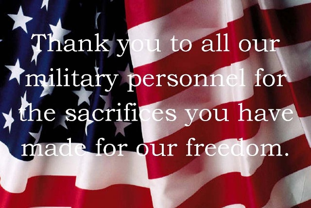 Memorial Day Thank You Messages
