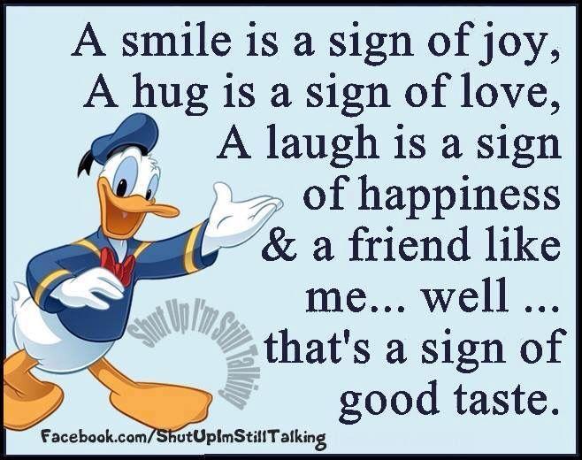 Donald Duck Messages
