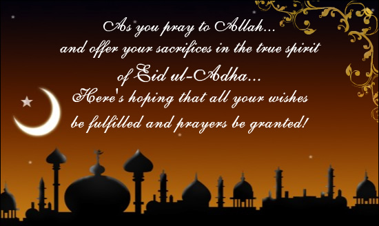Eid Mubarak Images With Quotes