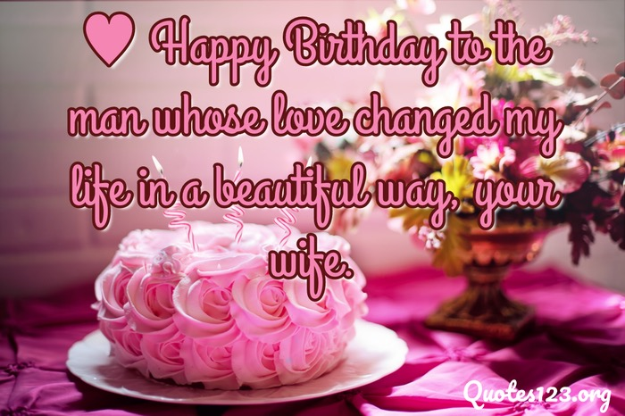 Birthday Greetings For Husband
