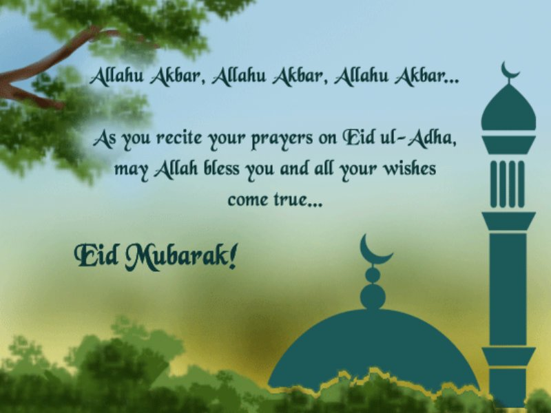 Eid Ul Adha Prayers