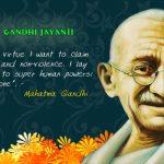 Gandhi Jayanti Quotes