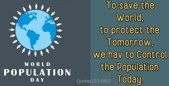 World Population Day Slogan