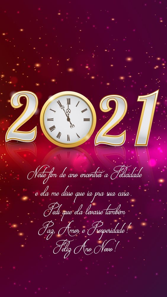 Happy New Year 2021 Android Wallpaper