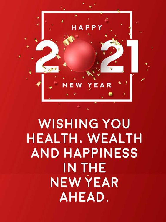 Happy New Year 2021 Greetings Images