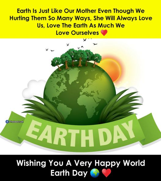 Earth Day Wishes Messages
